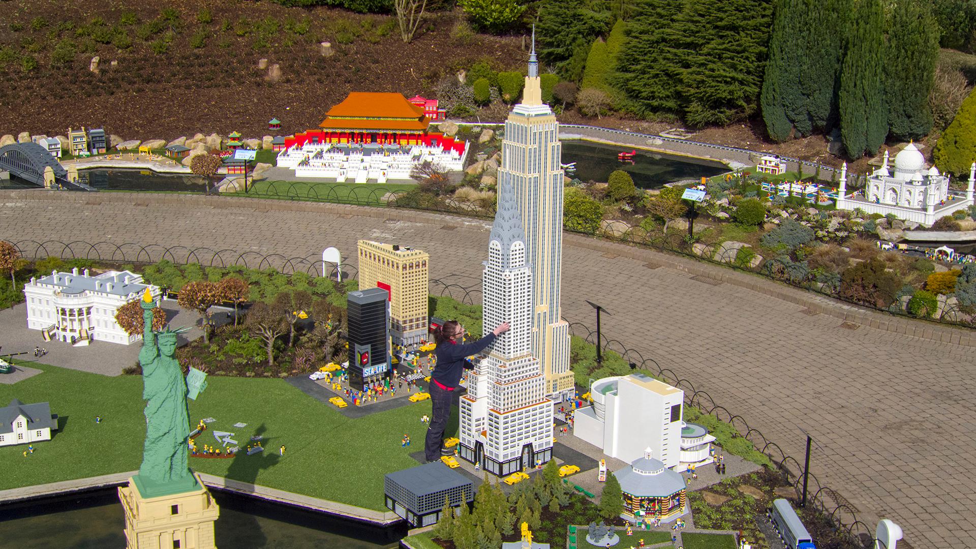 Miniland – Legoland Windsor Resort